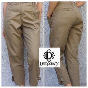 Democracy Cargo Utility Ankle Pants
